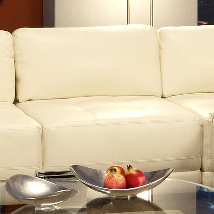 Coaster Fine Furniture Kayson White Bonded Leather Chair