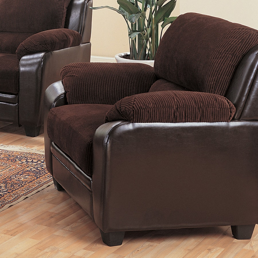Coaster Fine Furniture Monika Chocolate Polyester Chair