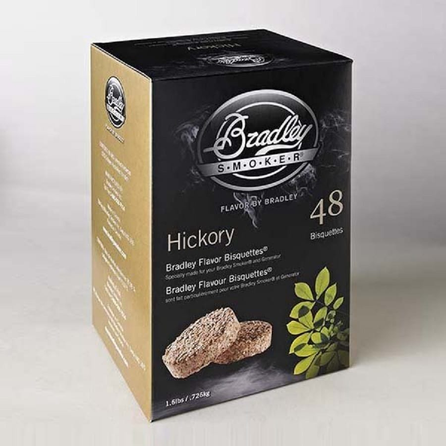 Bradley 48-Pack 1.6-lbs Hickory Wood Chips