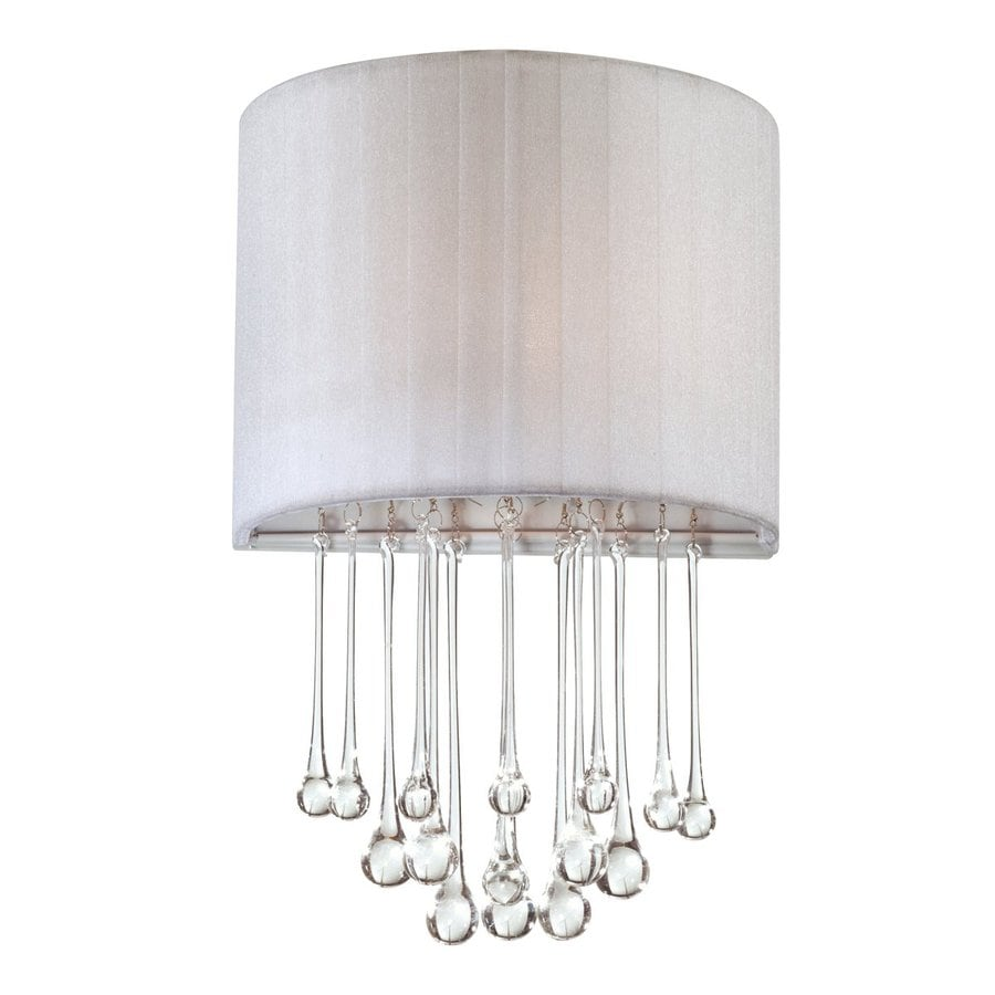 Eurofase Penchant 10-in W 1-Light Chrome Pocket Hardwired Wall Sconce