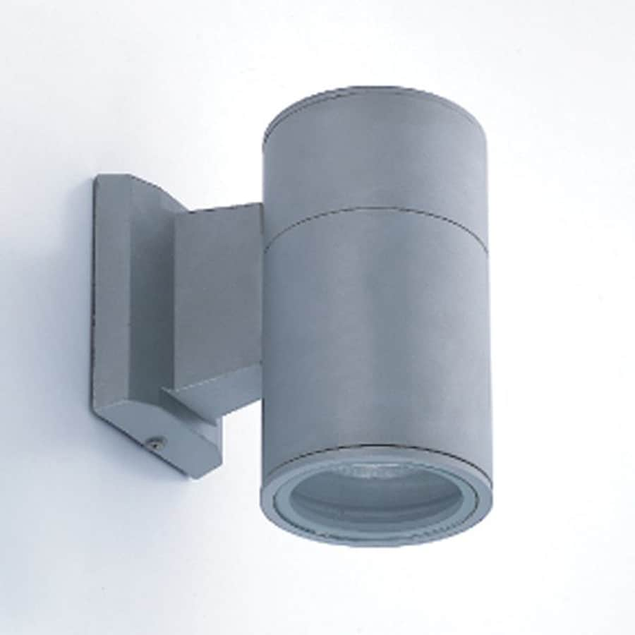 Eurofase 6.88-in H Grey Gu10 Pin Base Outdoor Wall Light