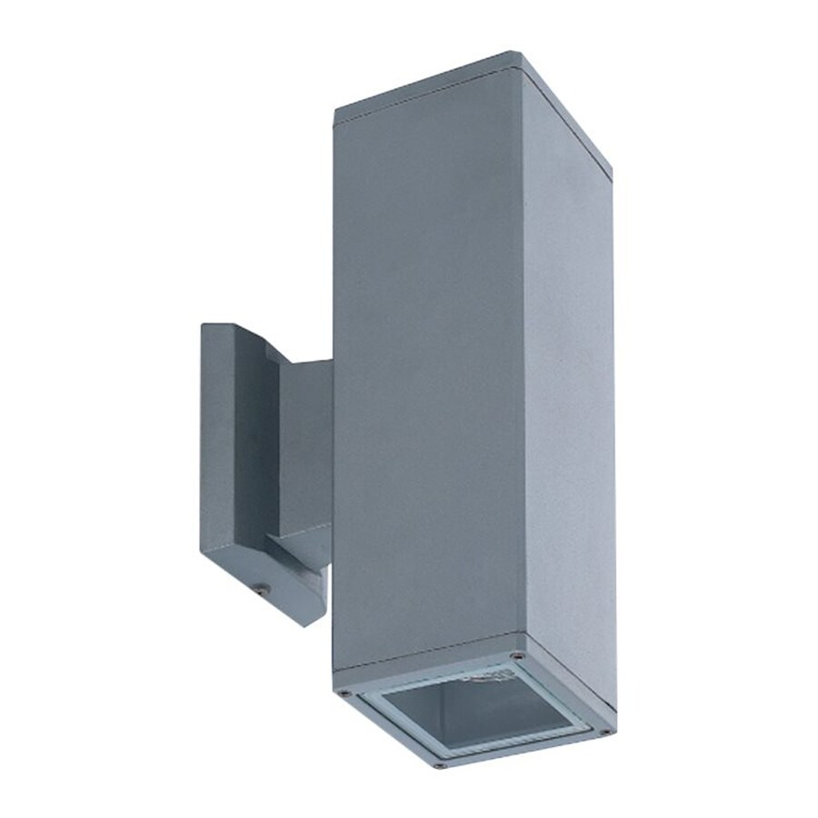 Eurofase 7.25-in H Grey Outdoor Wall Light