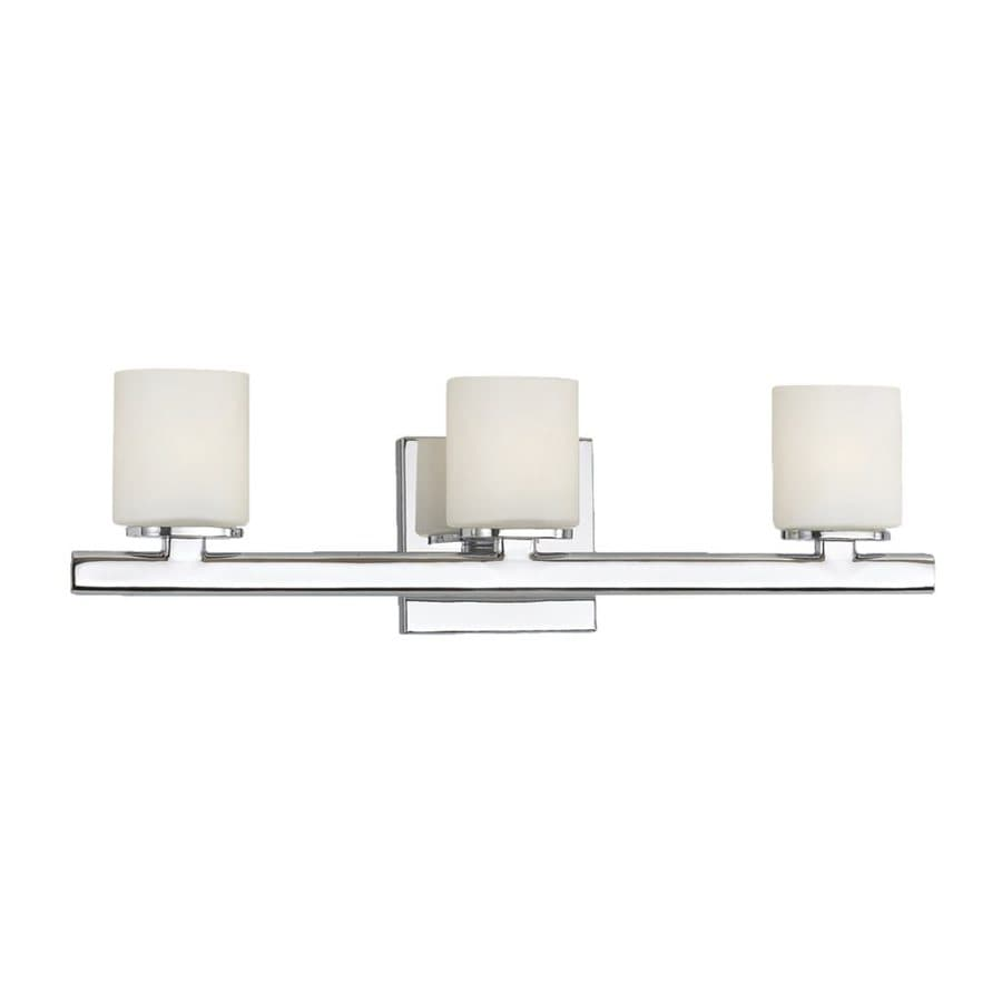 Eurofase Marond 3-Light 5.63-in Chrome Cylinder Vanity Light