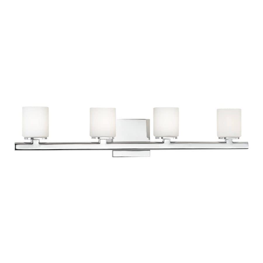 Eurofase Marond 4-Light 5.63-in Chrome Cylinder Vanity Light