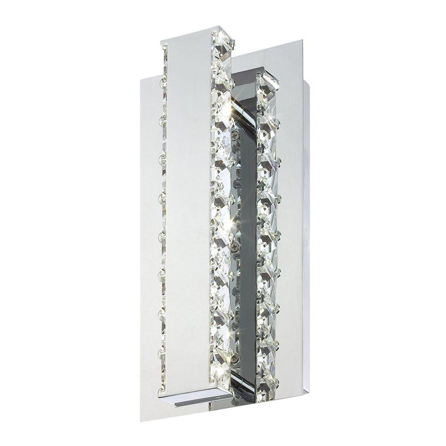 Eurofase Cronos 4.75-in W 1-Light Chrome Arm LED Wall Sconce