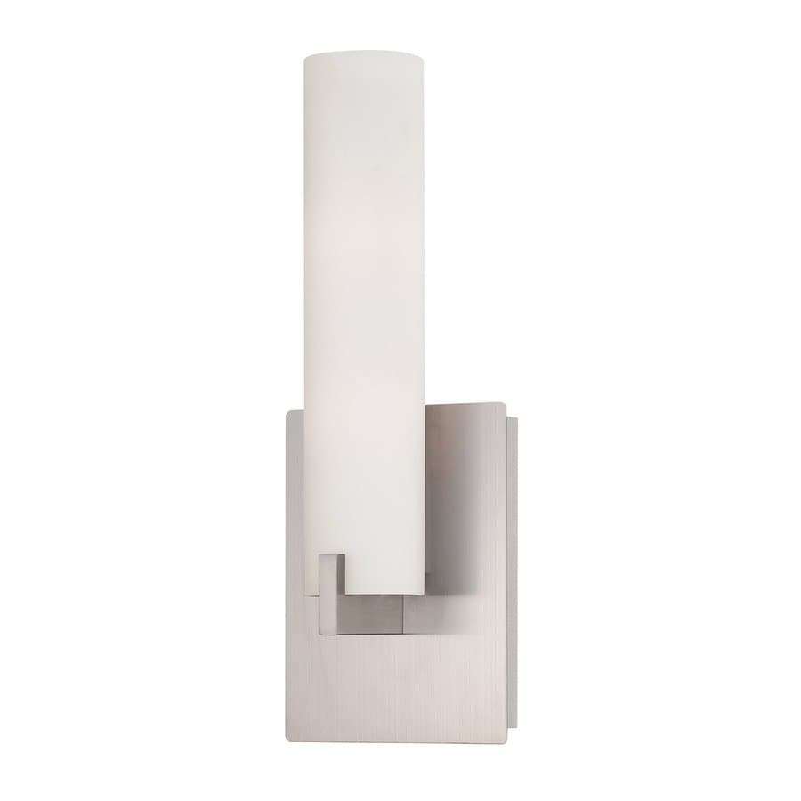 Eurofase Zuma 5.25-in W 1-Light Brushed nickel Arm Wall Sconce