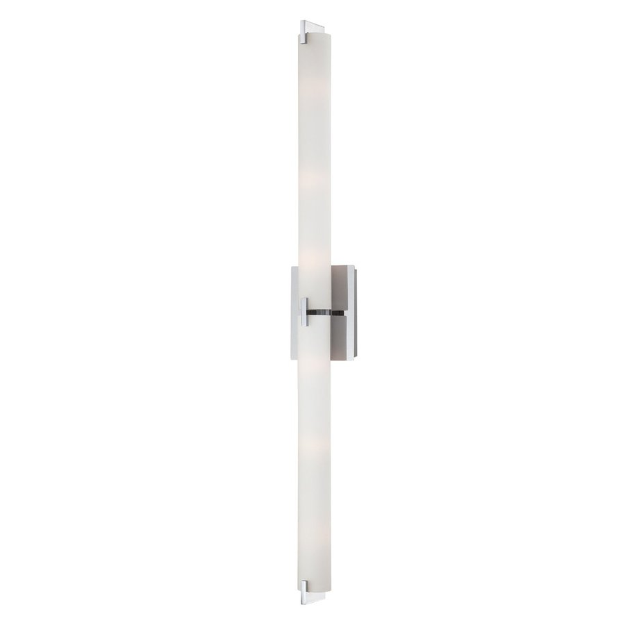 Eurofase Zuma 39.5-in W 1-Light Chrome Arm Hardwired Wall Sconce