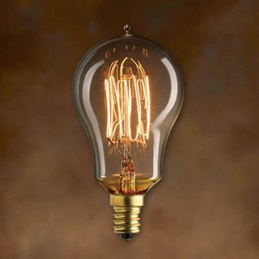 Shop Cascadia Lighting Mininostalgic 3 Pack 25 Watt Dimmable Amber A15 Vintage Incandescent