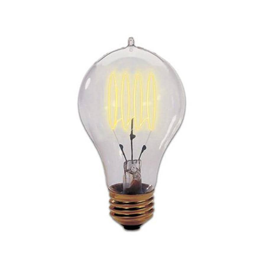 Cascadia Lighting Nostalgic Victorian 3-Pack 25 Watt Dimmable Amber A19 Vintage Incandescent Decorative Light Bulb