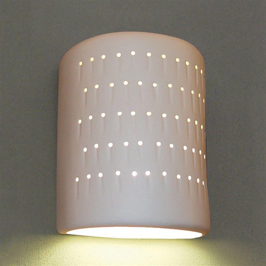 Shop Ameritec Lighting Half Cylinder 9 25 In H Paintable