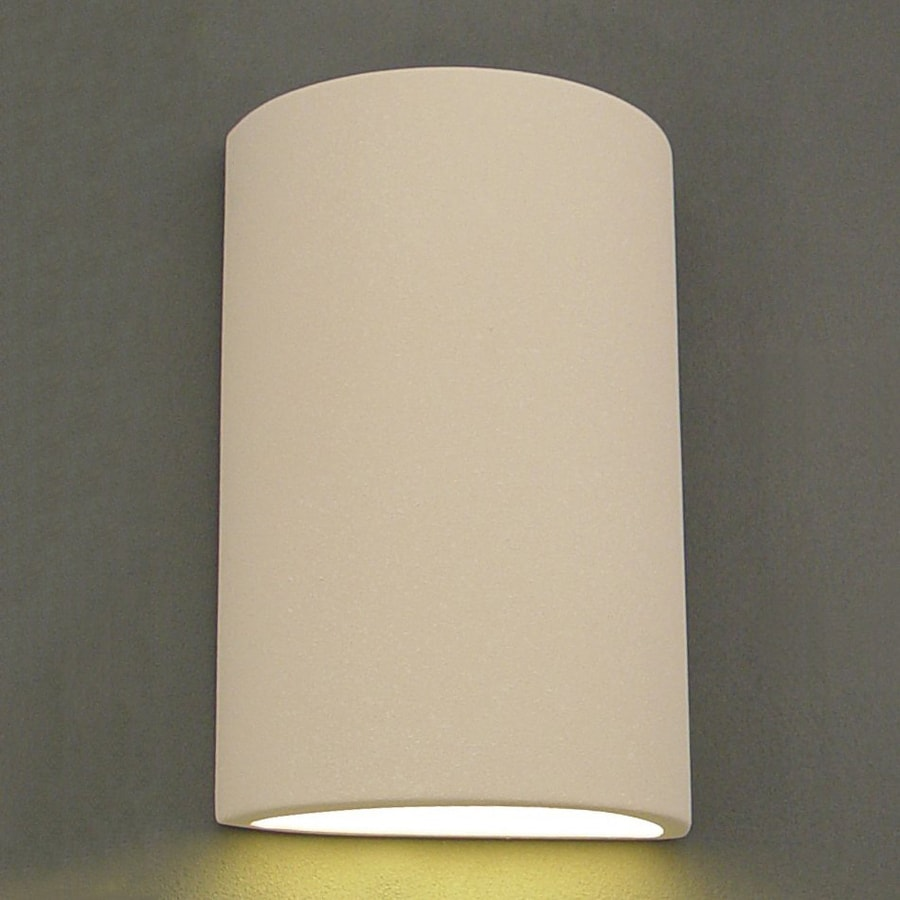 Ameritec Lighting Half Cylinder 15 In H Paintable Bisque Dark Sky Medium Base E