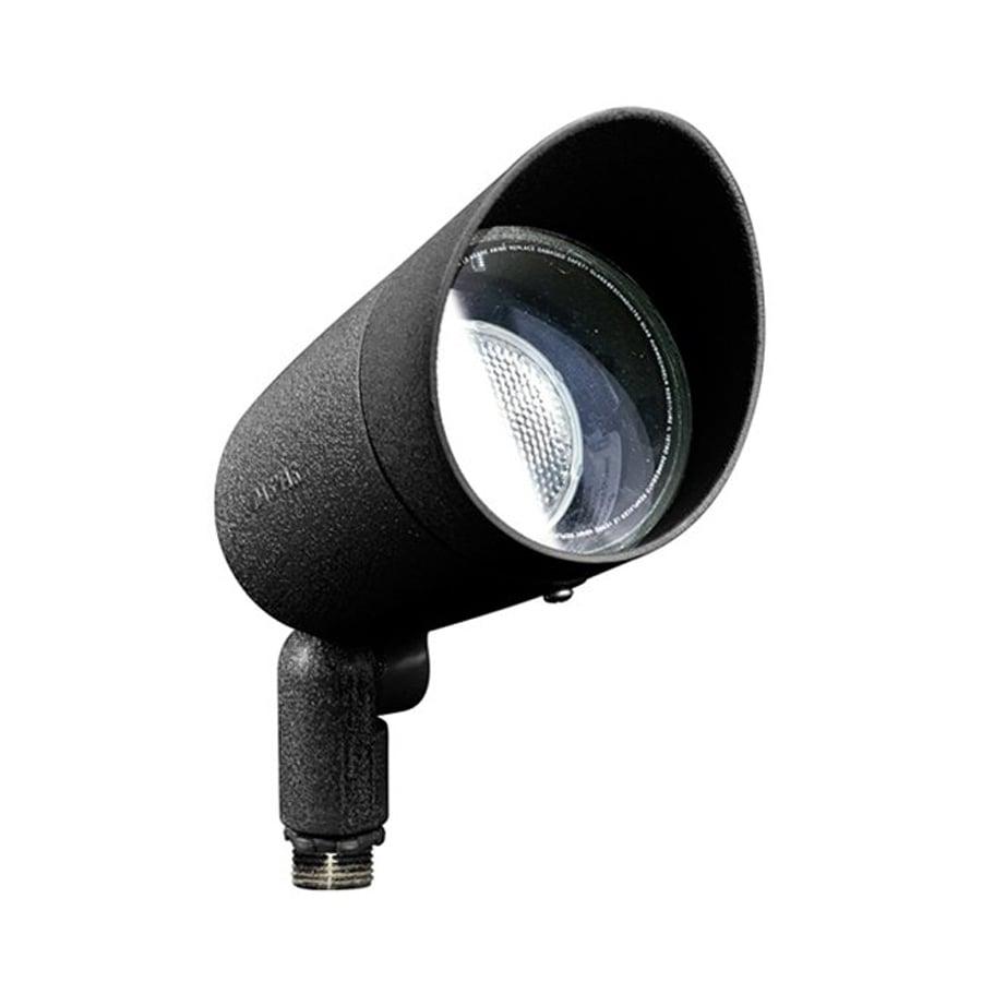 Dabmar Lighting 6-in 1-Head Halogen Black Switch-Controlled Flood Light