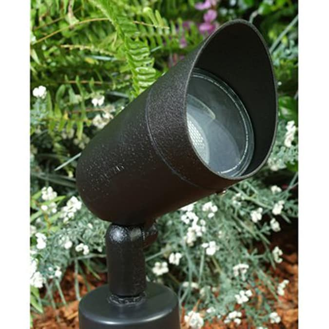 Dabmar Lighting 6 In 1 Head Halogen Black Switch Controlled Flood Light At Lowes Com