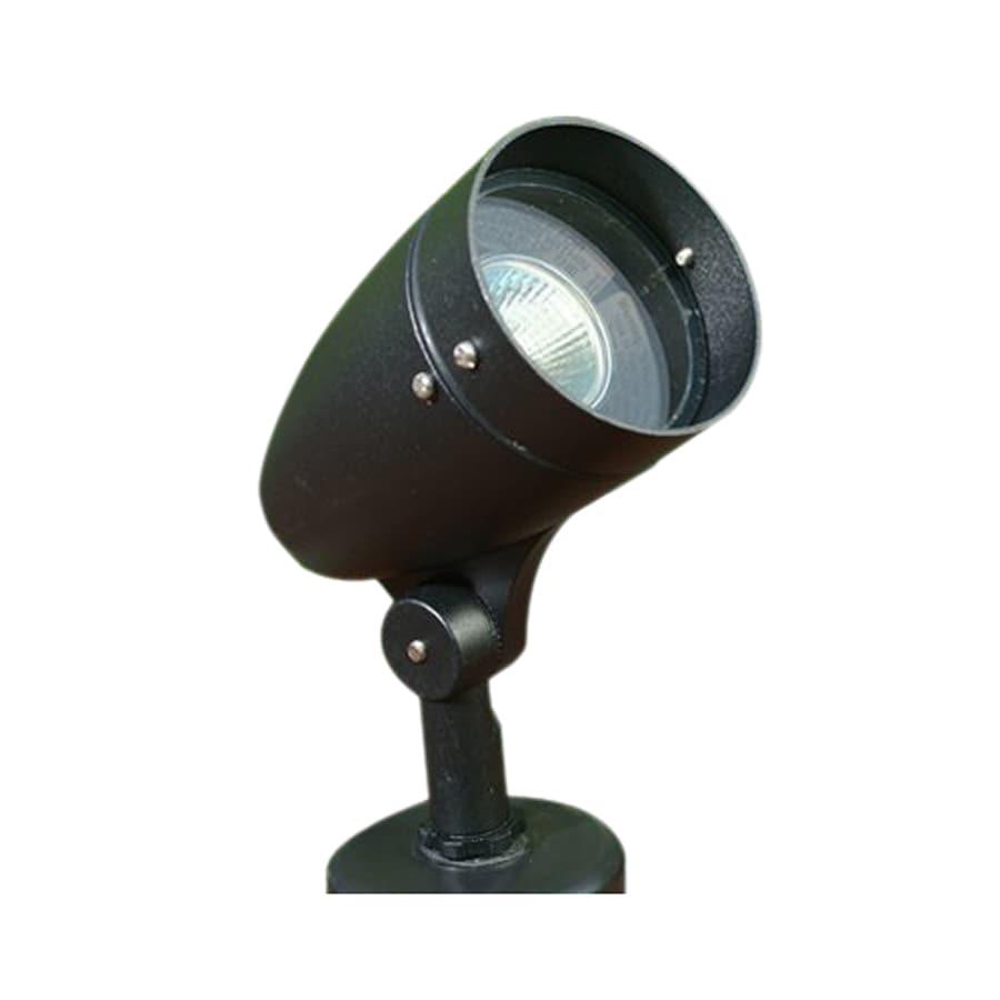 Dabmar Lighting Black Line Voltage 50-Watt Halogen Spot Light