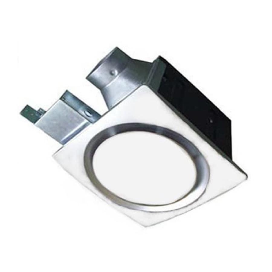 Shop Aero Pure Llc 1 Sone 70 Cfm White Bathroom Fan At