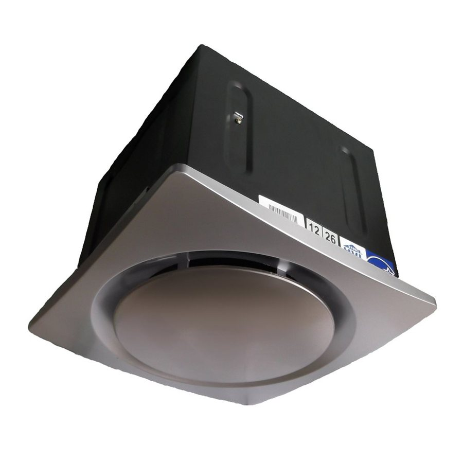 Aero Pure LLC 0.7-Sone 110-CFM Stainless Bathroom Fan