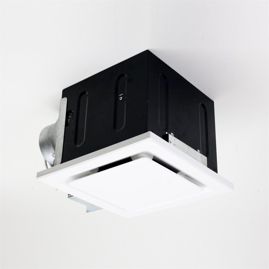 Aero Pure LLC 0.7-Sone 80-CFM White Bathroom Fan ENERGY STAR