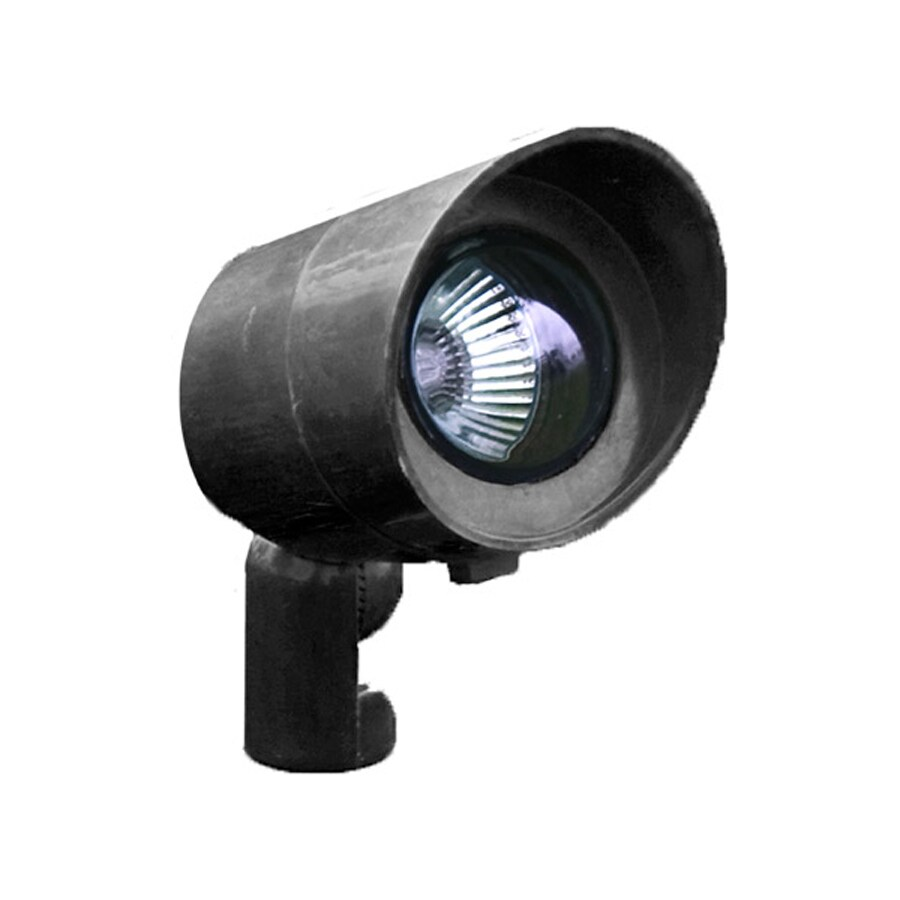 Shop Dabmar Lighting Black Low Voltage 20-Watt Halogen Spot Light at Lowes.com