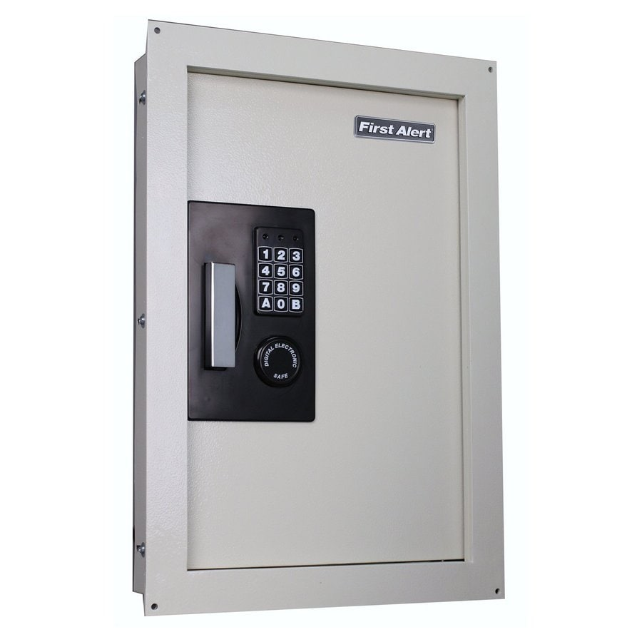 Merveilleux First Alert 0.85 Cu Ft Electronic/Keypad Residential Wall Safe