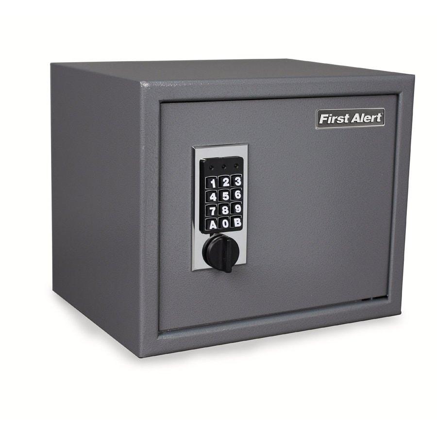 First Alert 1-cu ft Electronic/Keypad Residential Floor Safe