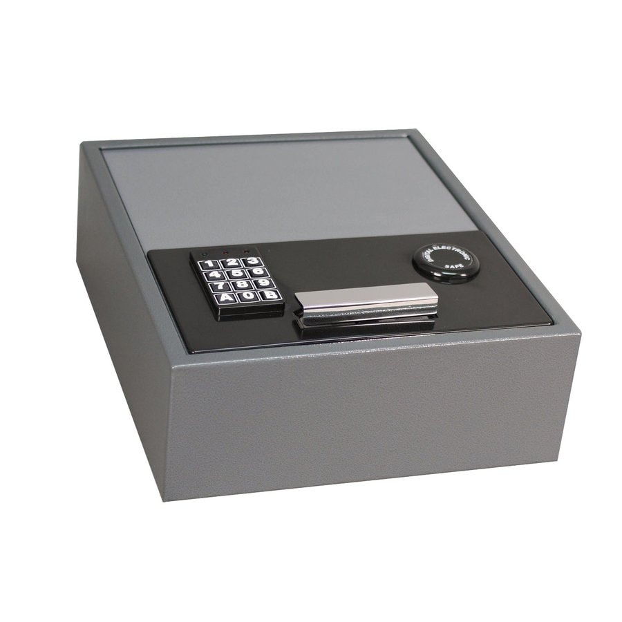 First Alert 0.35-cu ft Electronic/Keypad Cash Box Safe
