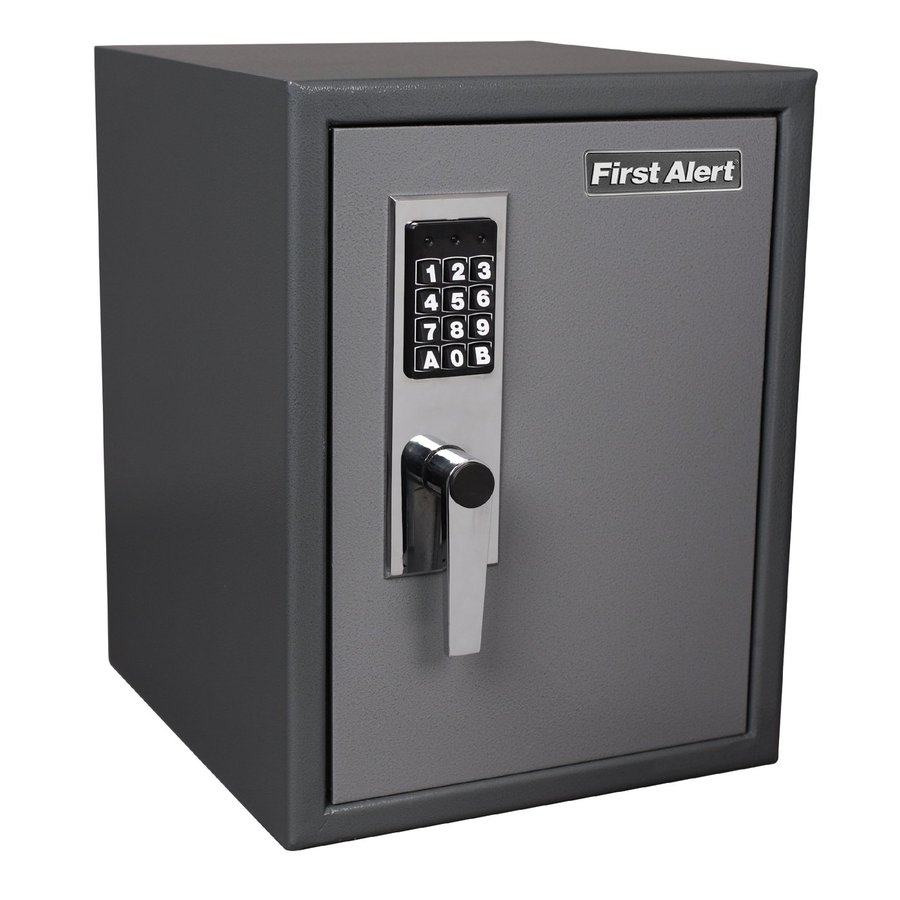 First Alert 1.2-cu ft Electronic/Keypad Commercial/Residential Wall Safe