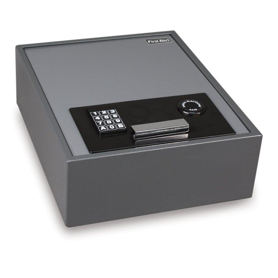 Shop First Alert 0 67 Cu Ft Electronic Keypad Cash Box