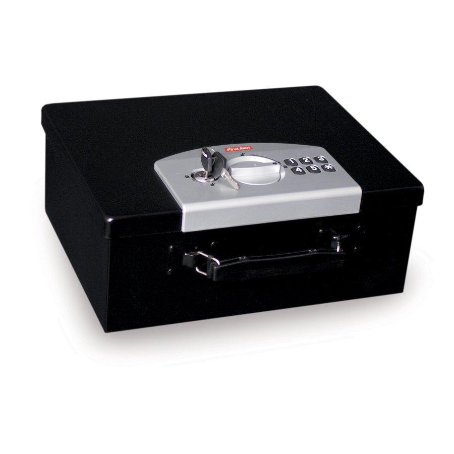 First Alert 0.44-cu ft Electronic/Keypad Cash Box Safe
