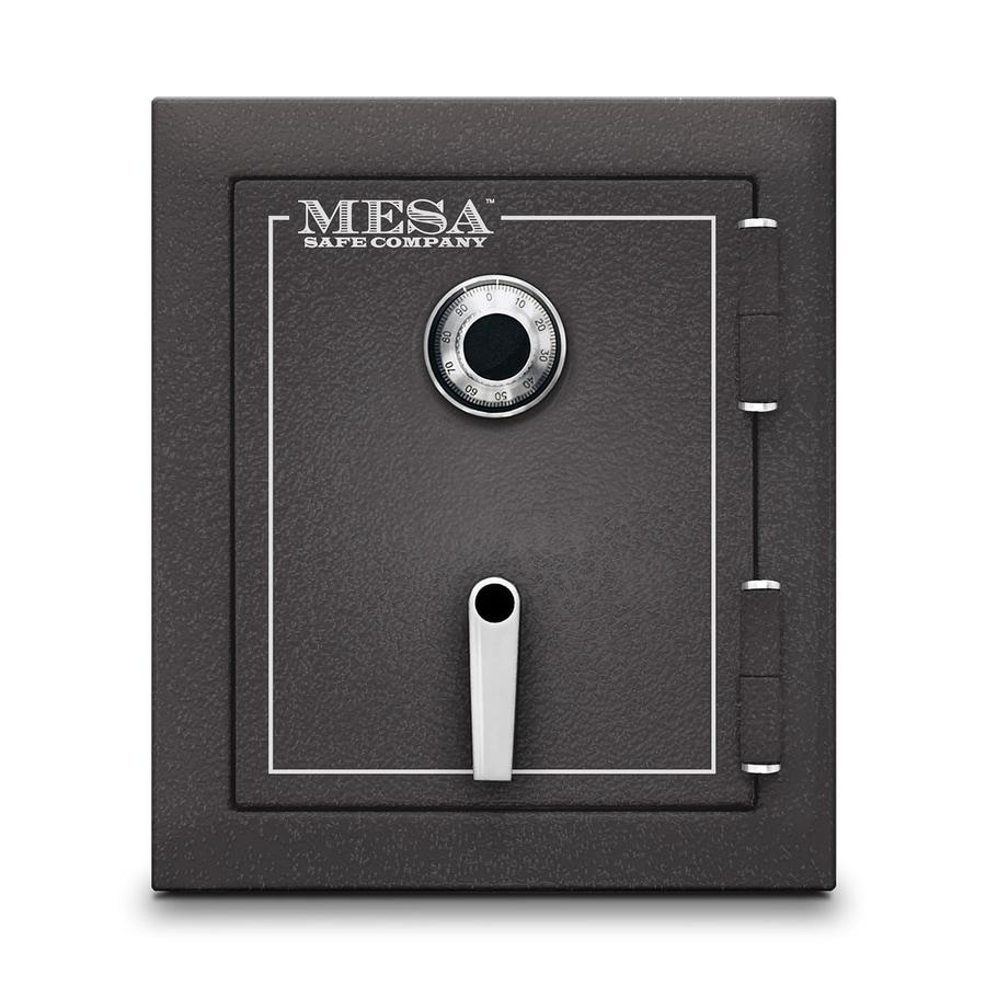 shop mesa safe company mbf 1 7 cu ft combination lock