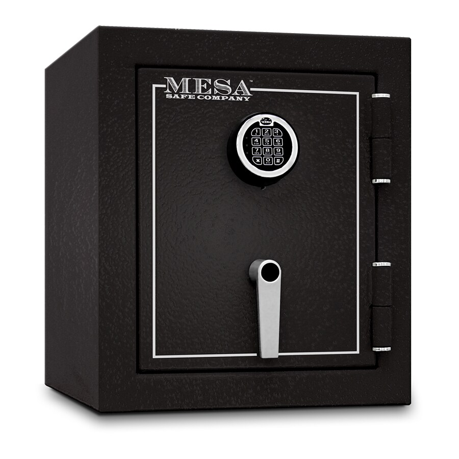 Mesa Safe Company MBF 1.6-cu ft Electronic/Keypad Commercial/Residential Floor Safe
