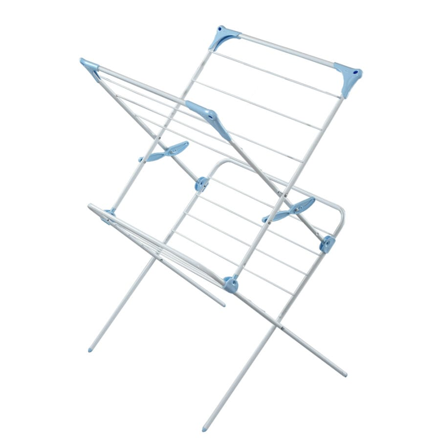 Minky White Indoor Drying Rack