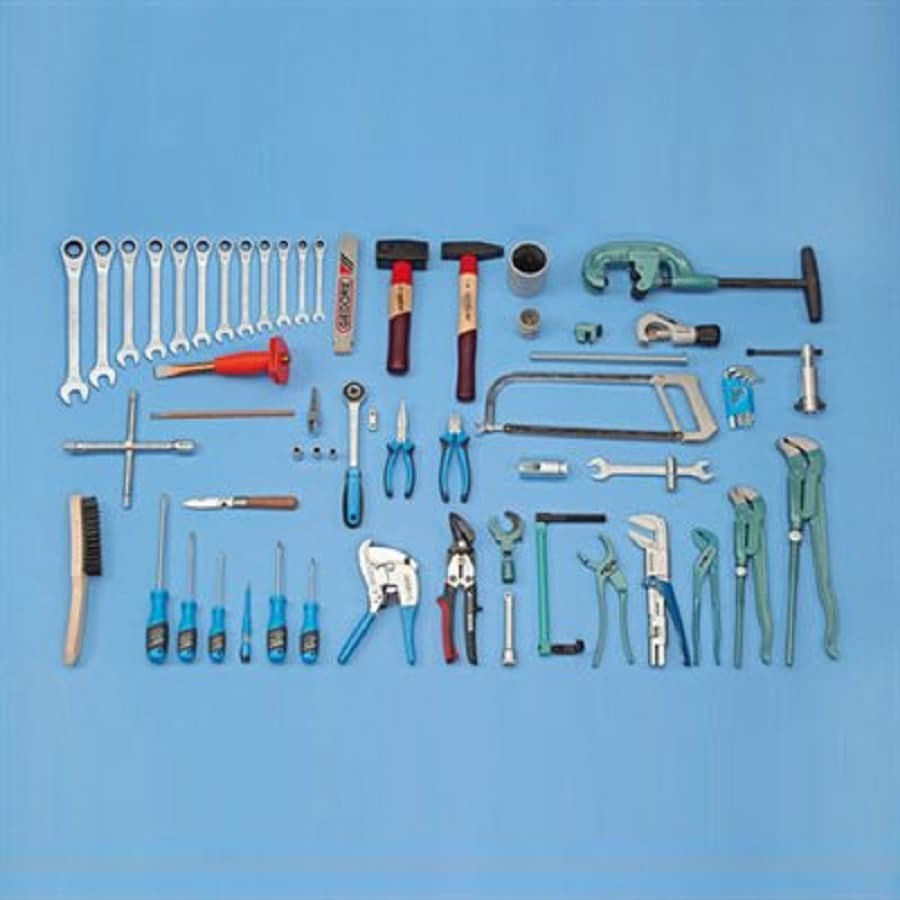 Gedore 63-Piece Metric Mechanic's Tool Set