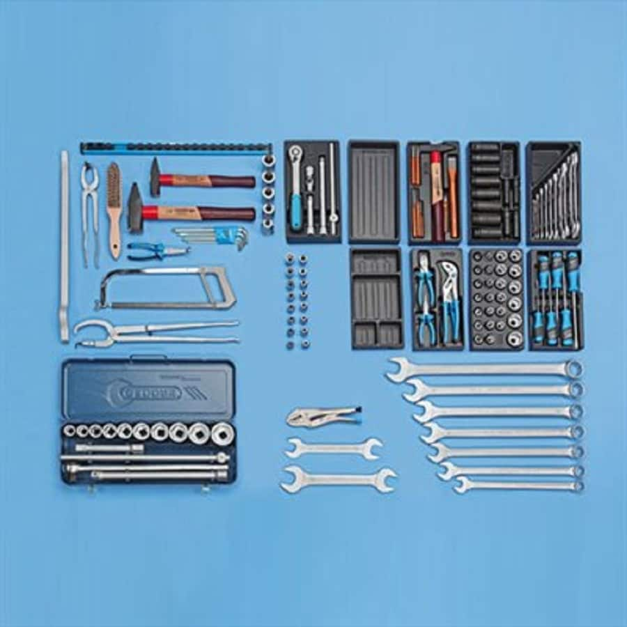 Gedore 158-Piece Metric Mechanic's Tool Set