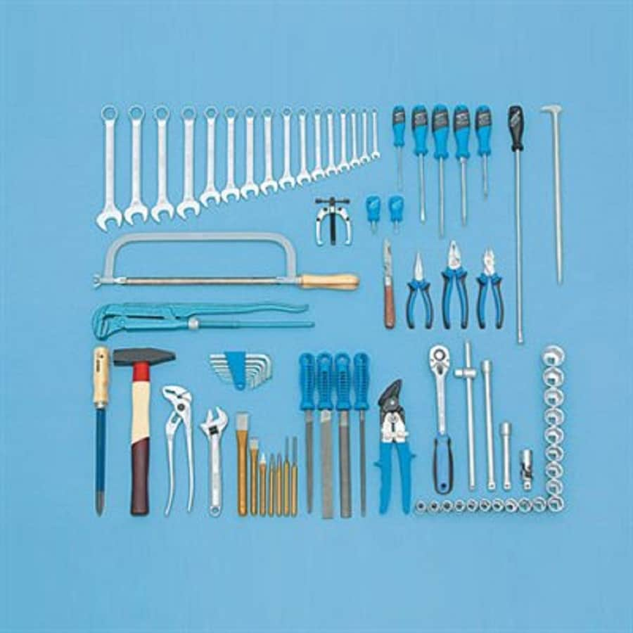 Gedore 80-Piece Metric Mechanic's Tool Set