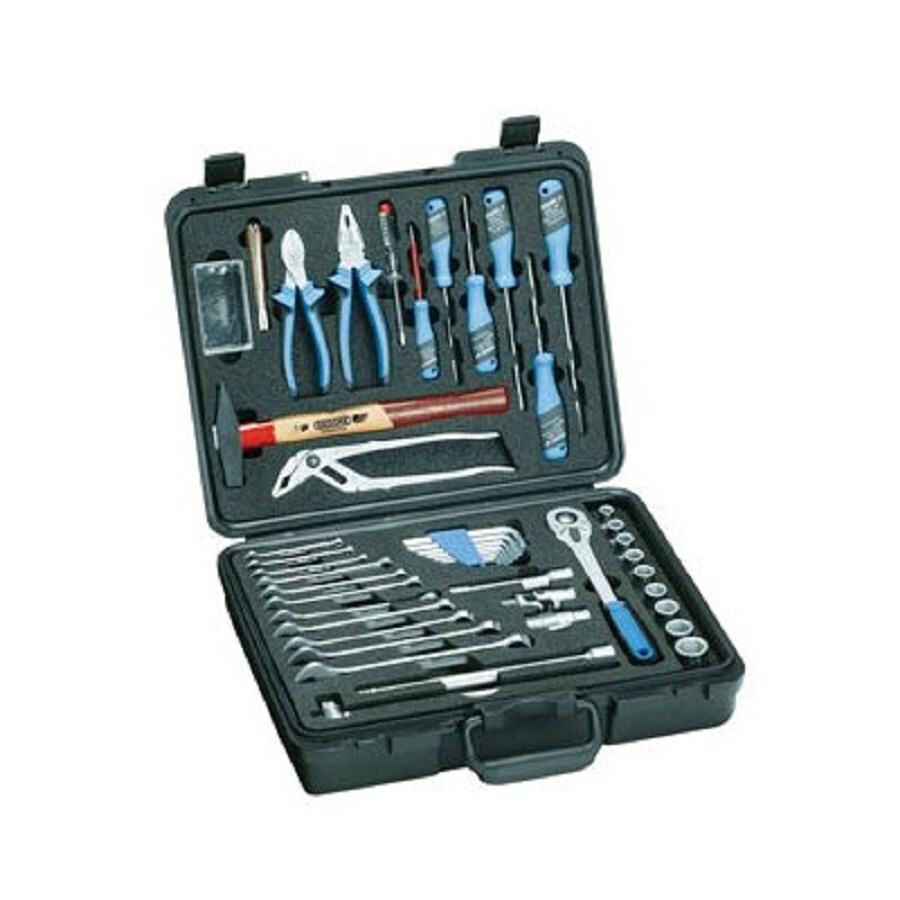 Gedore 47-Piece Metric Mechanic's Tool Set with Hard Case