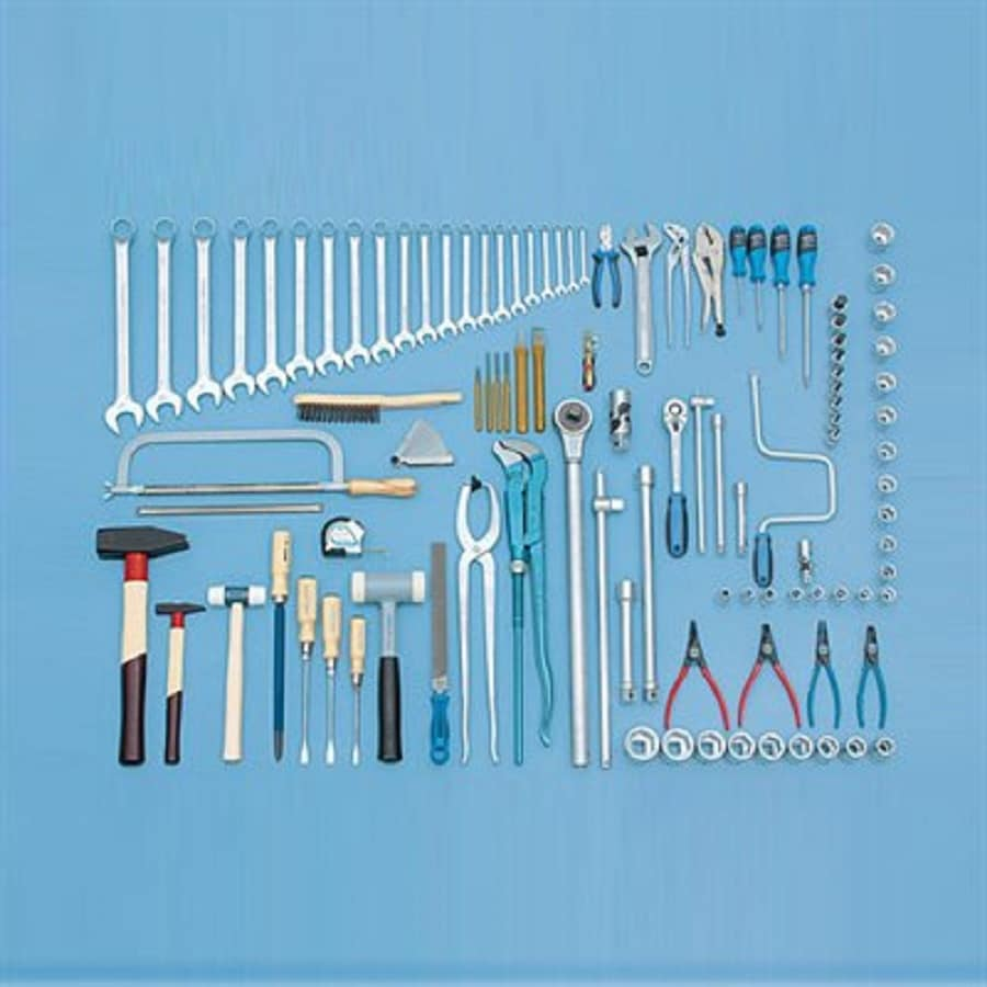 Gedore 115-Piece Metric Mechanic's Tool Set