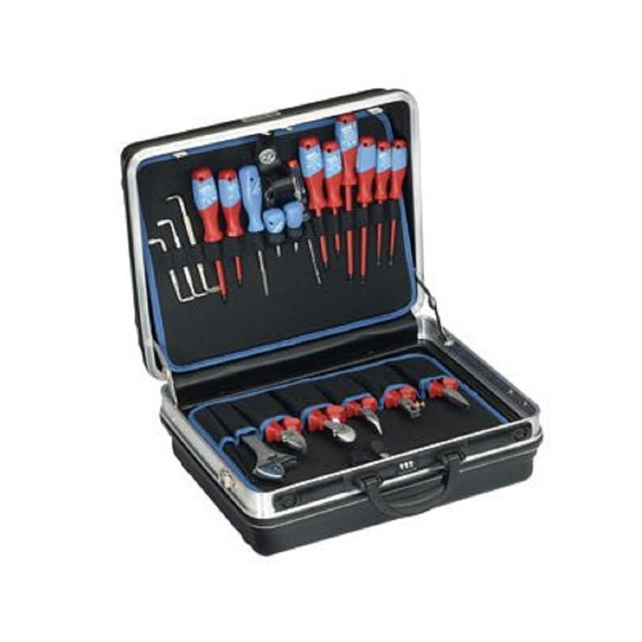 Gedore 90-Piece Metric Mechanic's Tool Set with Hard Case