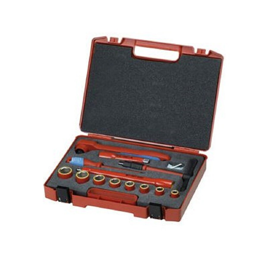 Gedore 14-Piece Metric Mechanic's Tool Set with Hard Case