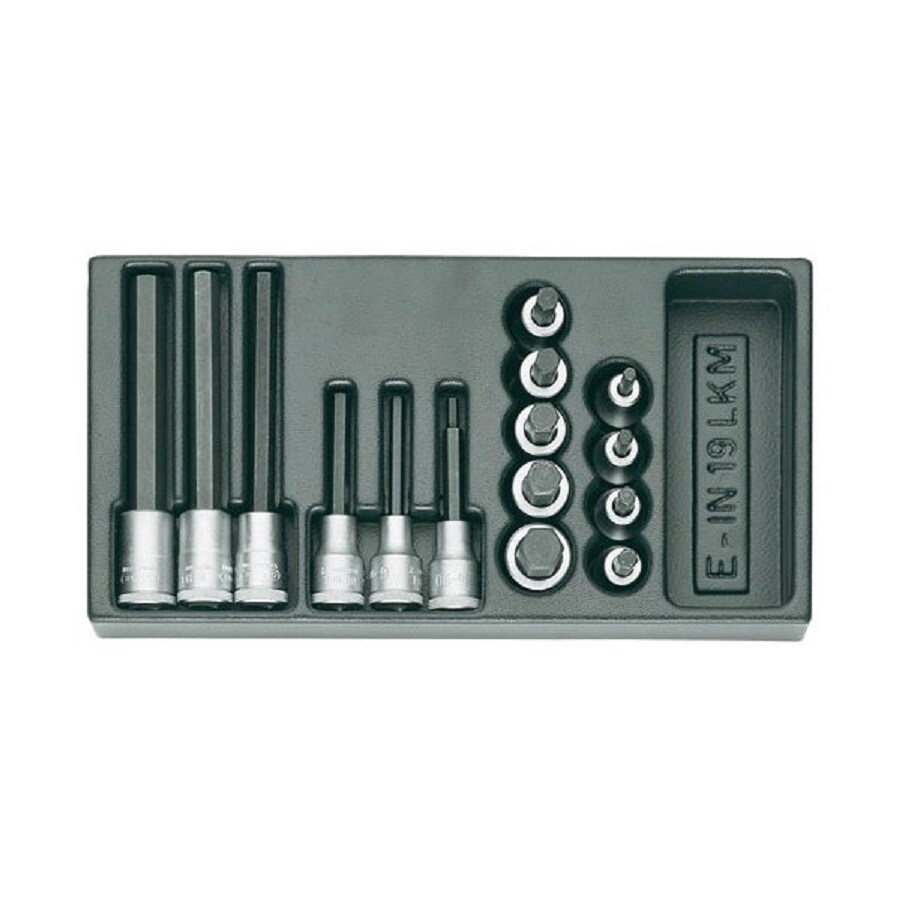 Gedore 16-Piece Metric 1/2-in Drive Socket Set