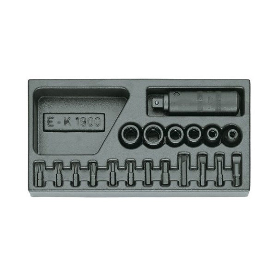 Gedore 19-Piece Screwdriver Bit Set