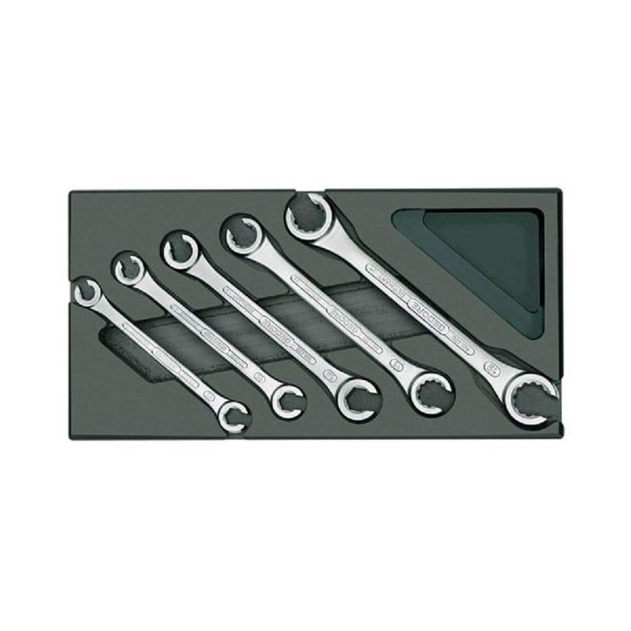 Gedore 5-Piece Standard Metric Wrench Set