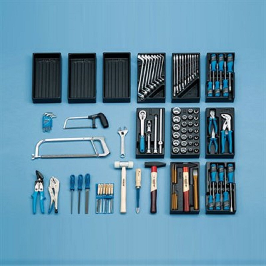 Gedore 100-Piece Household Tool Set