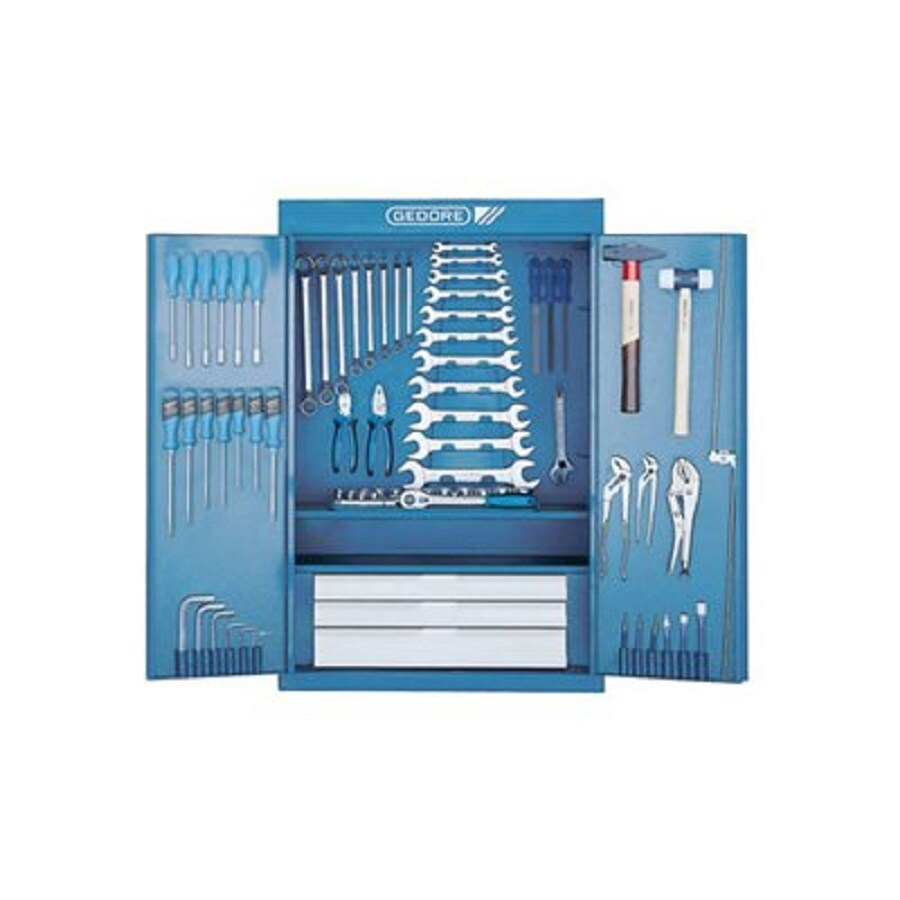 Gedore 325-Piece Metric Mechanic's Tool Set with Hard Case