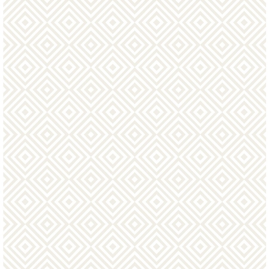 Brewster Wallcovering Pearl Non-Woven Geometric Wallpaper