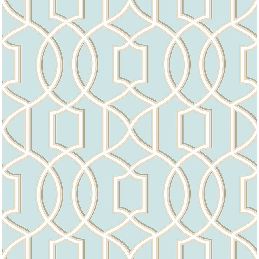 Brewster Wallcovering Symetrie Sky Non-Woven Geometric Wallpaper