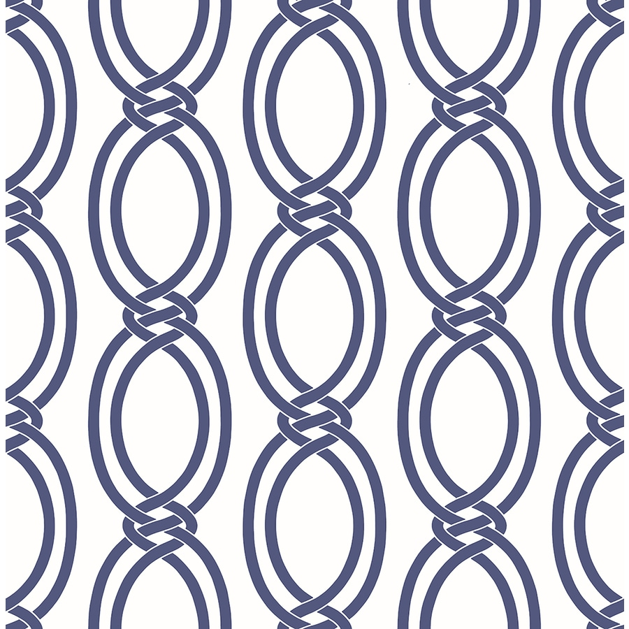 Brewster Wallcovering Indigo Paper Geometric Wallpaper
