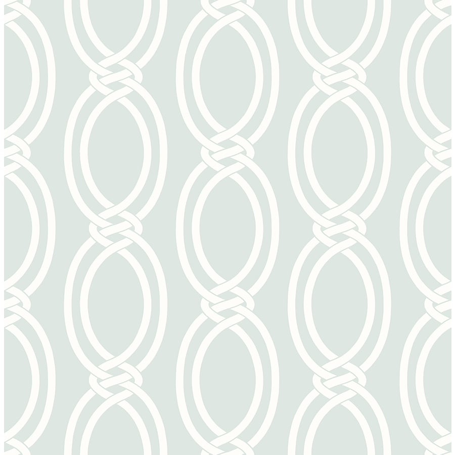 Brewster Wallcovering Symetrie Mint Non-Woven Geometric Wallpaper