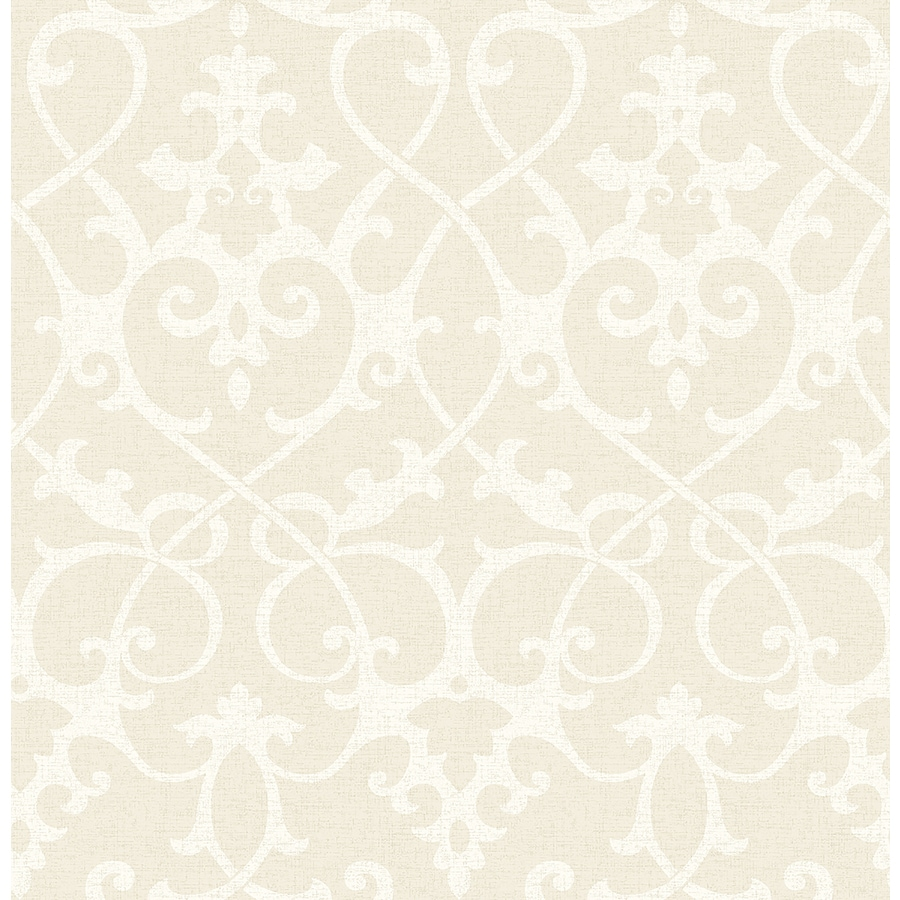 Brewster Wallcovering Beige Paper Geometric Wallpaper