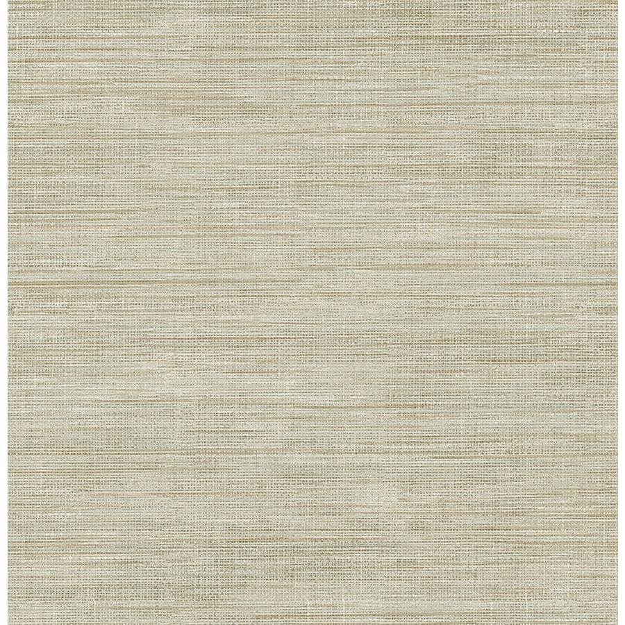 Brewster Wallcovering Brewster Essentials Beige Non-Woven Grasscloth Wallpaper