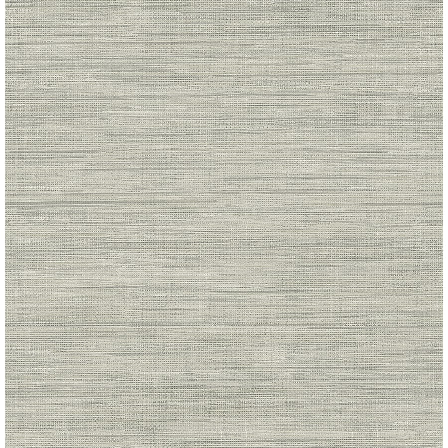 Shop brewster wallcovering brewster essentials 56 sq ft Temporary grasscloth wallpaper